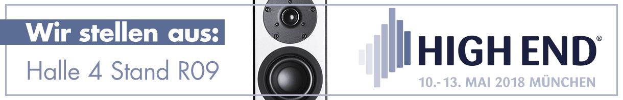 system audio auf der High-End 2018