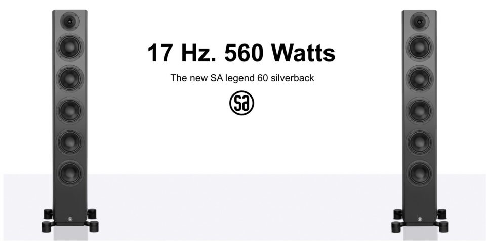 SA legend 60 silverback